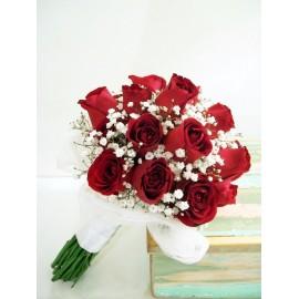 Ramos de novia 15 rosas