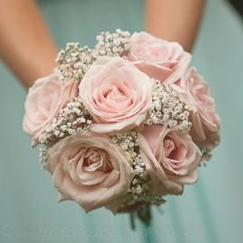 Ramos de novia rosado