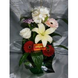 Spatifilium con flores