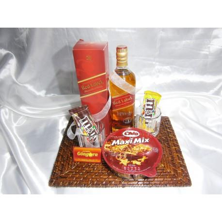 Picada con whisky jhonnie walker