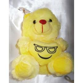 Peluche oso amarillo 20 cm