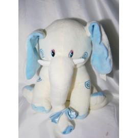 Peluche elefante celeste 35 cm
