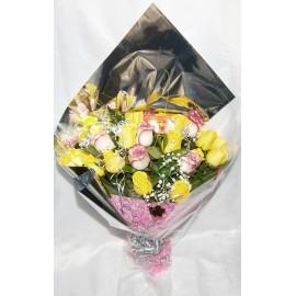Ramo de 24 rosas importadas