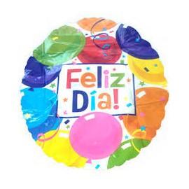 Globo feliz dia