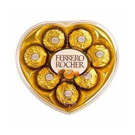 Bombones Ferrero Rocher Corazon