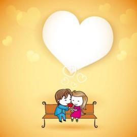 Tarjeta amor diseño 1